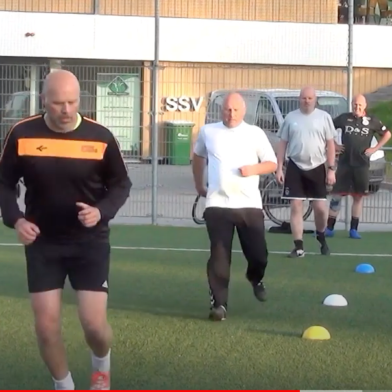 Veteranen HBSS blij om weer te trainen (+Video)