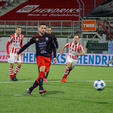 Excelsior in slotfase langs TOP Oss