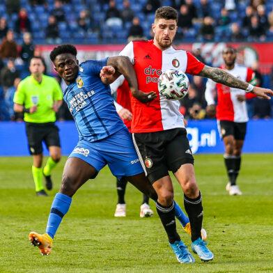 'Feyenoord wil 20 miljoen voor Marcos Senesi'