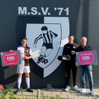 Tom Leinweber bezorgt zijn club M.S.V.'71 onverwachte winstpremie